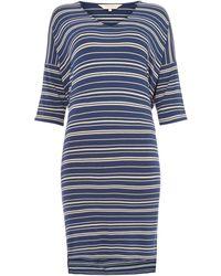 Part Two - Dericka Stripe Jersey Dress - Lyst
