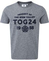 Tog 24 - Navy Marl Richmond Deluxe T-shirt - Lyst