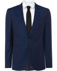 HUGO - Anwor Hadin Textured Two Piece Suit - Lyst