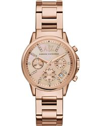 Armani Exchange - Ax4326 Ladies Bracelet Watch - Lyst