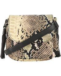 Jane Norman - Snake Skin Detailed Tassel Bag - Lyst