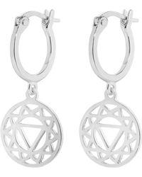 Daisy London - Solar Plexus Chakra Earrings - Lyst