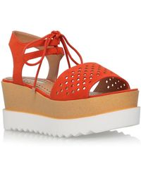 Miss Kg - Phoenyx High Wedge Heel Sandals - Lyst