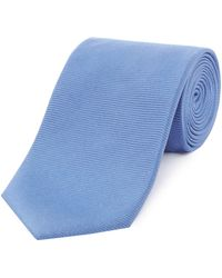 Simon Carter - Plain Twill Tie - Lyst
