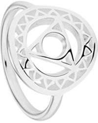 Daisy London - Throat Chakra Ring - Lyst