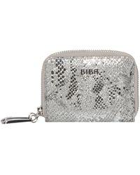 Biba - Medium Double Zip Leather Purse - Lyst