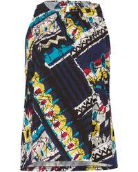 Izabel London - Bold Print Sleeveless Top - Lyst