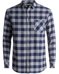 Quiksilver - Motherfly Long Sleeve Shirt - Lyst