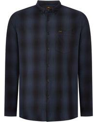 Lee Jeans - Men's Button Down Check Shirt - Lyst