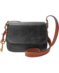 Fossil - Zb6759001 Ladies Small Saddle Crossbody - Lyst