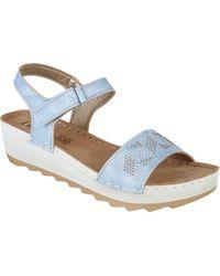 Lotus - Massari Flatform Sandals - Lyst
