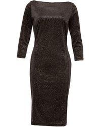 Feverfish - Glitter Spot Dress - Lyst