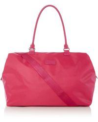 Lipault - Original Plume Pink Weekend Bag Medium - Lyst