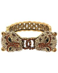 Mikey - Double Tiger Face Bracelet - Lyst