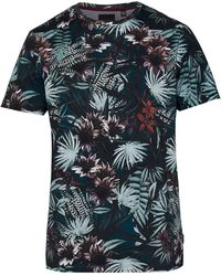 Ted Baker - Jungle Print Cotton T-shirt - Lyst