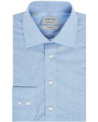 Chester Barrie - Men's Marl Poplin Shirt - Lyst