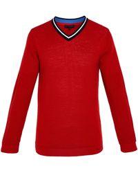 Ted Baker - Men's Delota Ls Golf Knitted V-neck - Lyst
