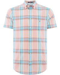 GANT - Men's Summer Checked Shirt - Lyst