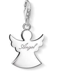 Thomas Sabo - Charm Club Guardian Angel Pendant - Lyst