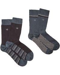White Stuff - Men's Plain Sock 2 Pack - Lyst