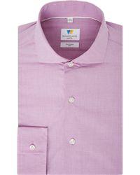 Richard James - Chambray Slim Fit Shirt - Lyst