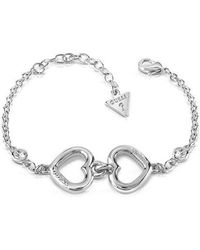 Guess - Grace Logo Bracelet - Lyst