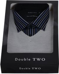 Double Two - Shirt & Jumper Set - Lyst