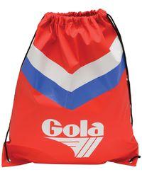 Gola Hicks Chevron Drawstring Bag - Red