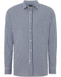 Howick - Men's Hunstanton Gingham Long Sleeve Shirt - Lyst