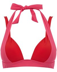 Heidi Klum | Savannah Sunset Cross Back Bikini Top | Lyst