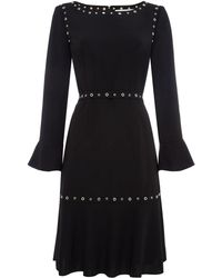 BOSS - Henryke 8 Eyelet Dress - Lyst