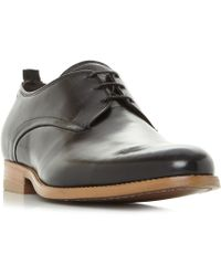Bertie - Black 'professor' Classic Gibson Shoes - Lyst