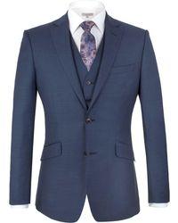 Alexandre Of England | Brunswick Tailored Fit Sharkskin Jacket | Lyst