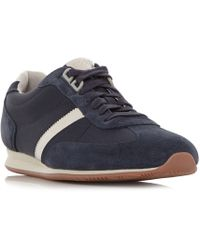 Dune - Orlando Low Mix Material Sneakers - Lyst