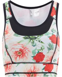 Guess | Floral Active Bra | Lyst