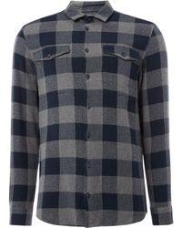 Minimum - Men's Ibuki Checkered Shirt - Lyst