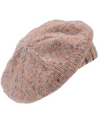 Stefanel - Patterned Beret - Lyst