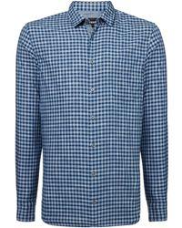 BOSS | Men's Cattiude 1 Gingham Shirt | Lyst