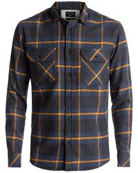 Quiksilver - Fitz Forktail Long Sleeve Shirt - Lyst