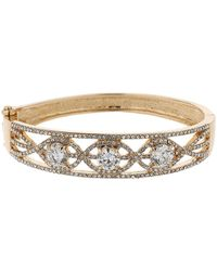 Mikey - Twisted Filligree Link Cuff Bracelet - Lyst