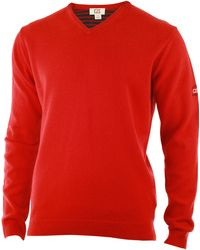 Cutter & Buck - Lambswool V Neck Jumper - Lyst