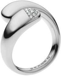 Skagen - Skj0412040002 Ladies Glass Stone Ring - Lyst