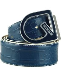 Galvin Green - Weston Leather Belt - Lyst