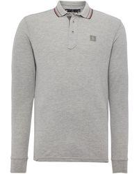 Duck and Cover - Jordan Long Sleeve Polo Shirt - Lyst