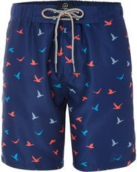 Duck and Cover - Beacon Swim Shorts - Lyst