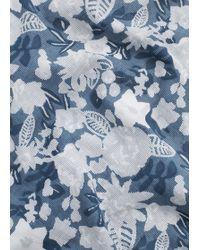 Mango | Floral Cotton Scarf | Lyst
