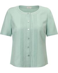Eastex | Dot Embroidered Blouse | Lyst
