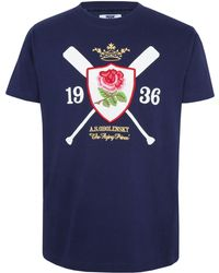 Ellis Rugby - The Flying Prince` T-shirt - Lyst