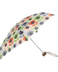 Orla Kiely - Tiny-2 Multi Flower Oval Umbrella - Lyst