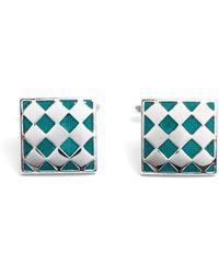 Paul Costelloe - Milford Geometric Design Cufflinks - Lyst